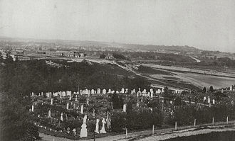Aldershot Military Cemetery - Aldershot Military Cemetery in 1910