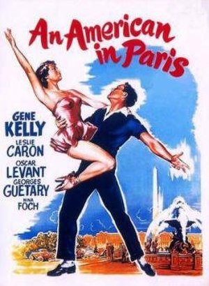 An American in Paris (film) - Theatrical release poster