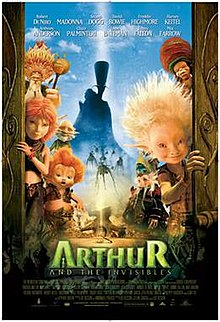 arthur and the invisibles wikipedia
