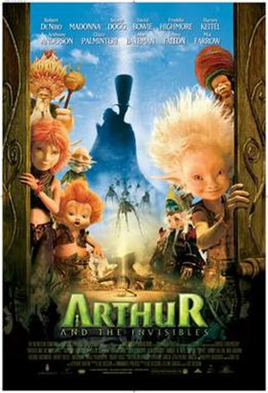 Arthur and the Invisibles - Theatrical release poster
