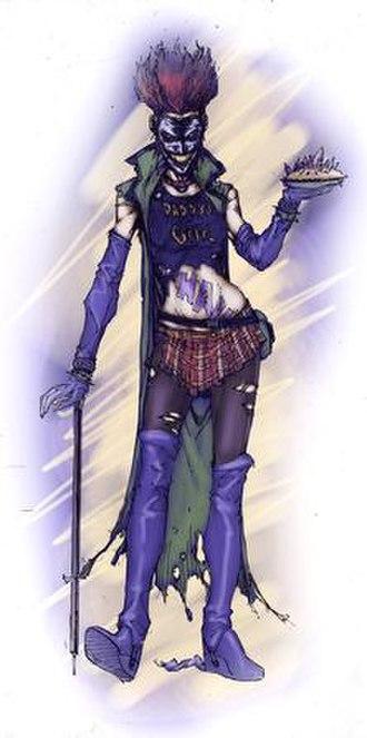 Duela Dent - Image: Artwork of the Joker's Daughter