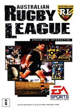 Australian Rugby League (video game) - Image: Australian Rugby League Coverart