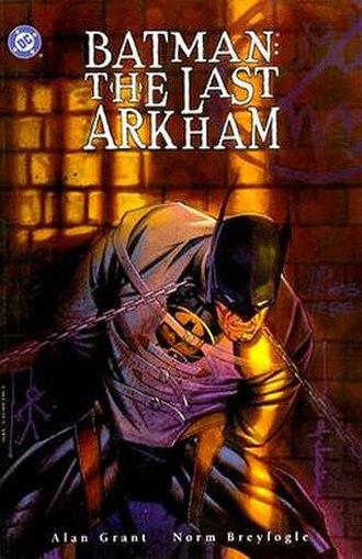 Batman: The Last Arkham - Cover of Batman: The Last Arkham TPB. Art by Brian Stelfreeze.