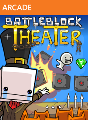 BattleBlock Theater - Cover art featuring one of the game's major characters, Hatty Hattington.