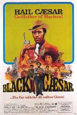 Black Caesar (film) - Theatrical release poster
