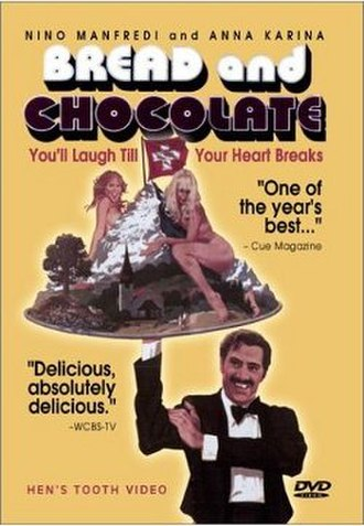 Bread and Chocolate - DVD cover