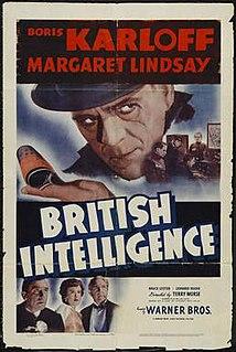 <i>British Intelligence</i> (film) 1940 film by Terry O. Morse