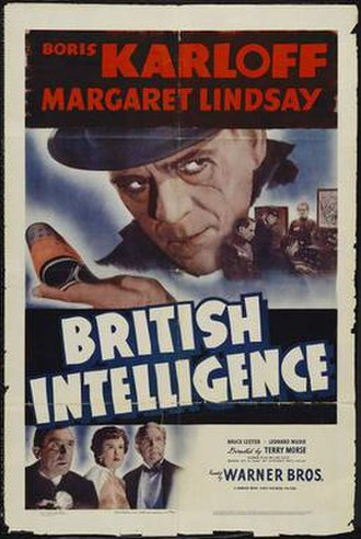 British Intelligence (film) - Theatrical poster