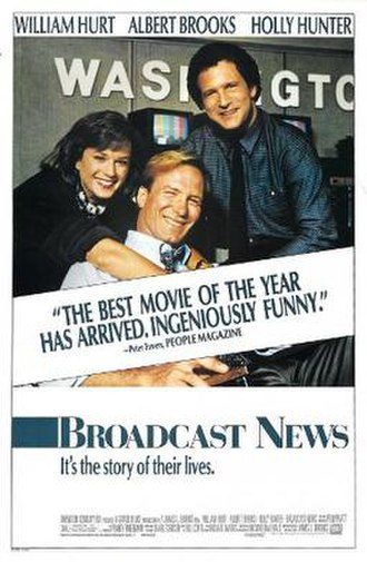 Broadcast News (film) - Theatrical release poster
