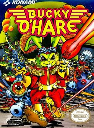 Bucky O'Hare - Bucky O'Hare as he appeared on the cover of the Nintendo video game, 1992