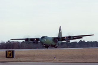 McEntire Joint National Guard Base - C-130 Taking off from McEntire