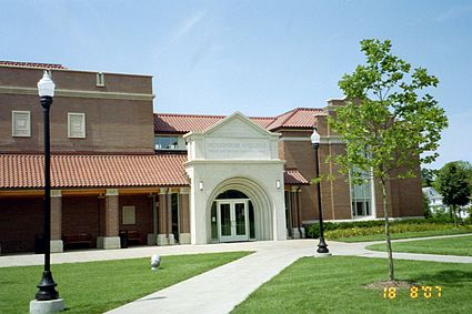 Caldwell Hall was dedicated in 2004