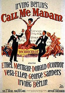 <i>Call Me Madam</i> (film) 1953 film