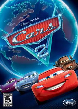 Cars 2 (video game) - Box art similar to the movie poster