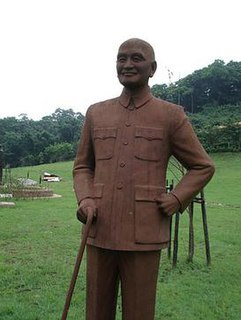 Chiang Kai-shek statues Statues of the President of the Republic of China