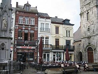 Chimay - Image: Chimay Belgium town square