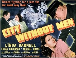 <i>City Without Men</i> 1943 film by Sidney Salkow