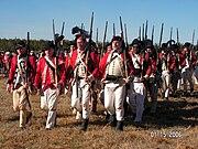 Reenactors at Cowpens Battlefield