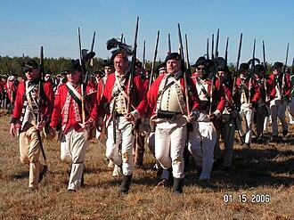Battle of Cowpens - Reenactors at Cowpens Battlefield