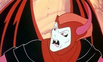 """Dungeons & Dragons (TV series) - Venger, the main villain. Trapped in """"The Dragons Graveyard"""""""