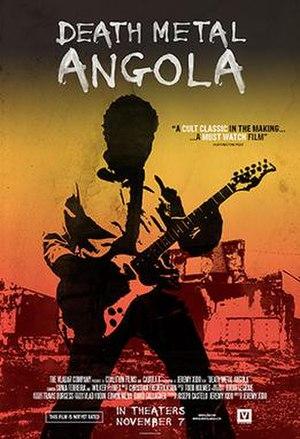 Death Metal Angola - Image: Death Metal Angola (movie poster)