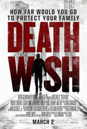 Death Wish (2018 film) - Theatrical release poster