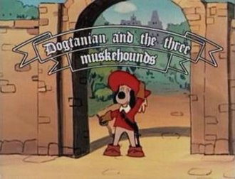 Dogtanian and the Three Muskehounds - Title screen