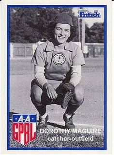 Dorothy Maguire American baseball player