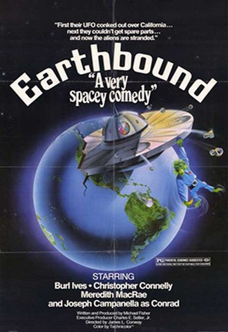 Earthbound (1981 film) - Theatrical release poster