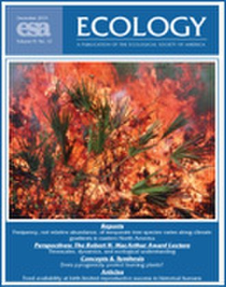 Ecology (journal) - Image: Ecology (journal)