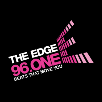 The Edge 96.ONE - Image: Edge 96 One logo