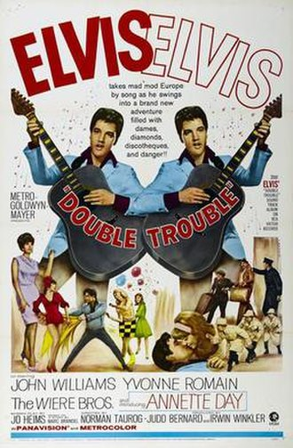 Double Trouble (1967 film) - Image: Elvis double trouble