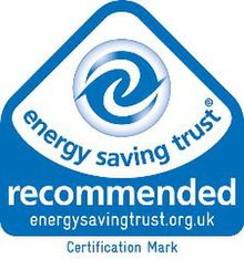 Energy Saving Trust Recommended Label