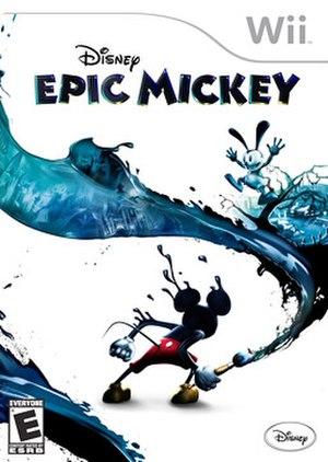 Epic Mickey - North American box art