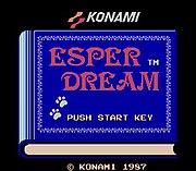 Esper Dream