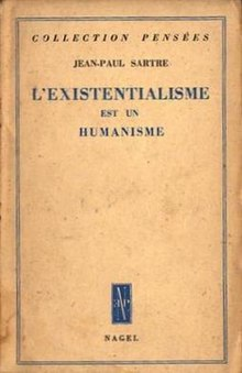 Existentialism Is A Humanism Wikipedia