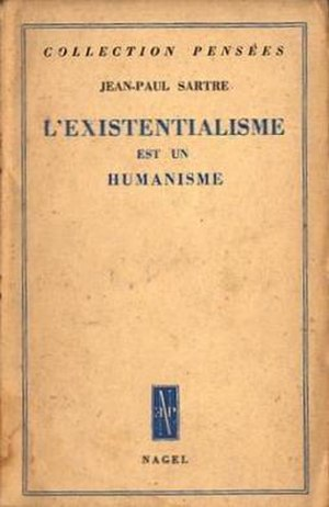 Existentialism and Humanism - Cover of the first edition