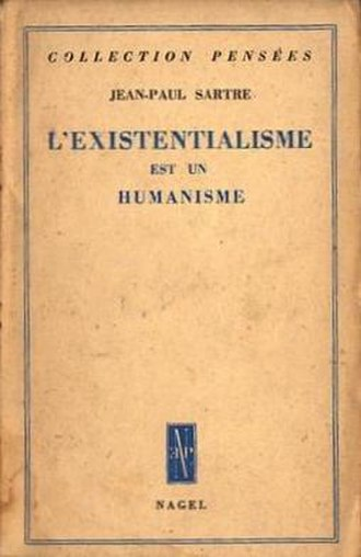 Existentialism Is a Humanism - Cover of the first edition