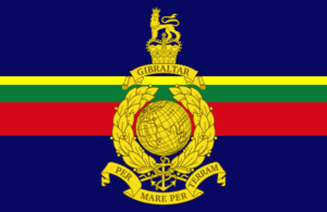 Vice-Chief of the Defence Staff (United Kingdom) - Image: Flag of the Royal Marines