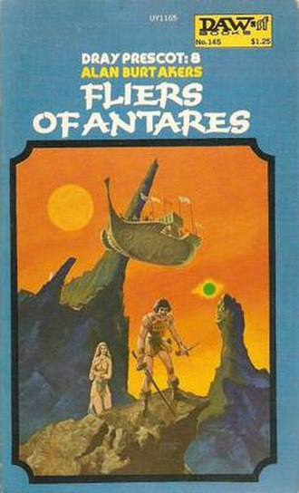 Fliers of Antares - First edition cover