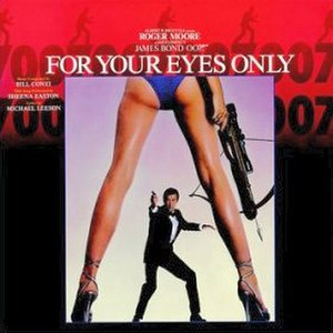 For Your Eyes Only (soundtrack) - Image: For Your Eyes Only (James Bond soundtrack)