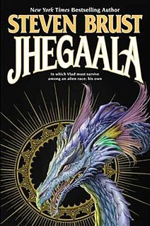 <i>Jhegaala</i> 2008 novel in the Vlad Taltos series by Steven Brust