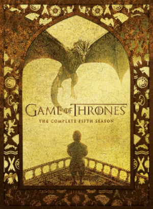 Game of Thrones (season 5) - Region 1 DVD artwork