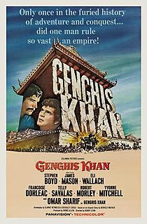 <i>Genghis Khan</i> (1965 film) 1965 film by Henry Levin