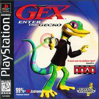 Gex: Enter the Gecko - North American cover art