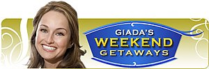 Giada's Weekend Getaways - Image: Giada's Weekend Getaways logo