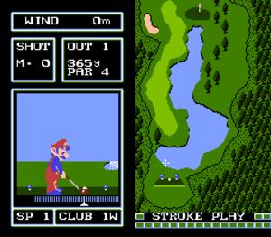 NES Open Tournament Golf - Golf (Japan Course)