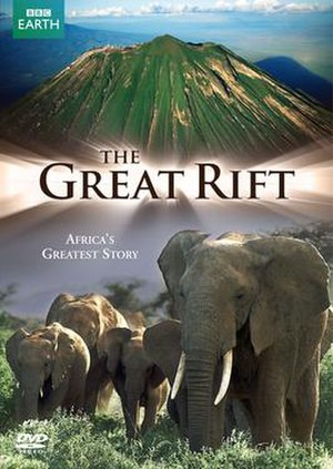 The Great Rift: Africa's Wild Heart - Region 2 DVD cover