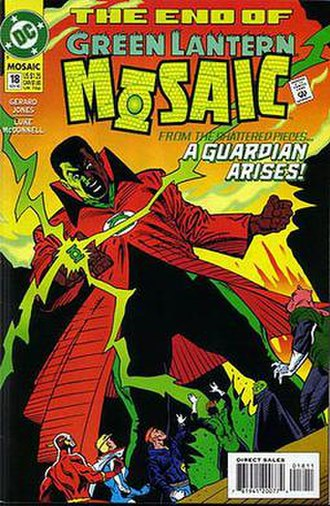 John Stewart (comics) - John Stewart as the mortal Guardian of the Universe, Master Builder
