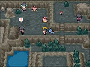 Pokémon HeartGold and SoulSilver - Image: HGS Sgameplay